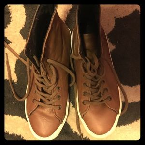 Shoes - Gorgeous leather sneakers (Inkkas brand) size 10